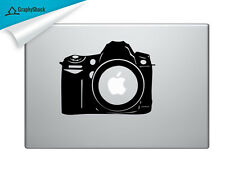 Photography Camera Cam Mac Decal Laptop Sticker Mac Decals for 13 15 17 inch