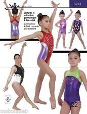 Jalie Gymnastics X-Back Leotard & Biketard Sewing Pattern 3241 Women & Girls