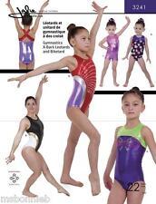 Jalie Gymnastics X-Back Leotard & Biketard Sewing Pattern 3241 Women & Girls