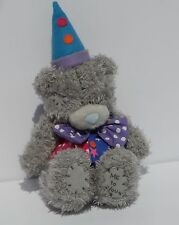 ME TO YOU TATTY TEDDY BEAR Clown Outfit CARTE BLANCHE Purple Bow Tie SHIPS FREE
