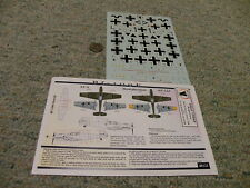 Eagle Strike  decals 1/48 48121  BF109s in the Balkans Part 2  BF 109E    N122