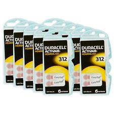 240 x Duracell Activair 312 PR41 Hörgerätebatterien knopfzelle Blister Batterien