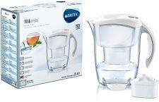 Brita Elemaris Kühl 2.4L Wasserfilter Für Kühlschrank Krug weiß +1 Maxtra Filter