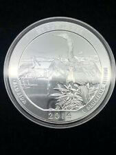 2014 America the Beautiful ATB 5oz Silver Florida Everglades Coin