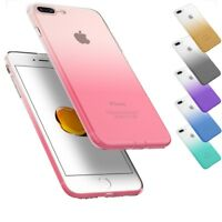 For iPhone Ultra Thin Slim Silicone Soft Rubber TPU Back Case Skin Cover Bumper
