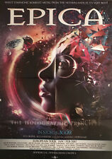 EPICA The Holographic Principle  Promo Poster - gefaltet / folded - Sammlerstück