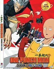 DVD One Punch Man Complete Season 2 Anime 12 Episodes English Subtitles