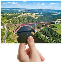 "Garabit Viaduct Railway Arch Small Photograph 6""x4"" Art Print Photo Gift #12543"