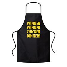 Winner Winner Chicken Dinner | PUBG | Gamer | Geek | Grillschürze / Latzschürze