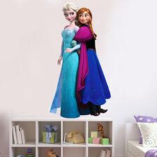 Frozen Elsa Princess Sisters Inspired Wall Sticker Childrens Bedroom UK