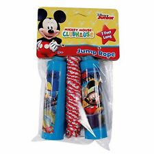 DISNEY MICKEY MOUSE+DONALD DUCK SKATING 7 FOOT JUMP ROPE JUMPING ROPE-BRAND NEW