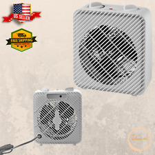 3-Speed Electric Fan-Forced Space Heater 1500W Home Office All-season use New
