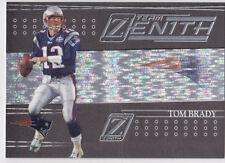 TOM BRADY INSERT CARD Team Zenith New England Patriots FOOTBALL BV$$ FOIL LE!