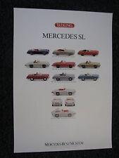 Poster Wiking Mercedes SL (JS)