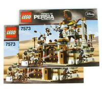 Lego Prince Of Persia 7573 Battle of Alamut - Instruction Manuals Only Book 1&2