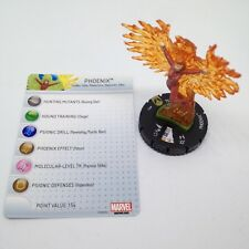 Heroclix Wolverine and the X-Men set Phoenix (Rachel) #045 Super Rare w/card!