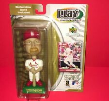 MARK MCGWIRE  2001 UPPER DECK PLAYMAKERS BOBBLEHEAD & CARD NEW IN PACKAGE