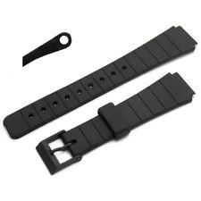 Watch Strap Band 16mm Resin 167F4 fits Casio MQ104 MQ24 MQ44 MQ61w MQ74