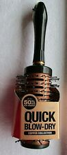 Conair Quick Blow Dry Copper Collection Hair Brush 2 Inch Barrel