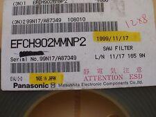 Saw Filter 902mhz SMT  EFCH902MMNP2 made by Panasonic 10pcs Z770