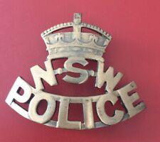 Australia - New South Wales Police Cap Badge