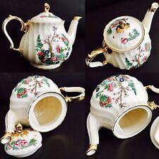 "Rare Antique 1930s James Sadler Original ""Indian Tree"" Pattern Bone China Teapot"