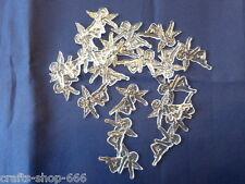 20 Engel #1 Streuelemente Streudeko Tischdeko Acryl  ca.32mm Kartengestaltung