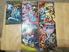 Marvel Comics Cosmic Powers Unlimited Silver Surfer full set 1 thru 5