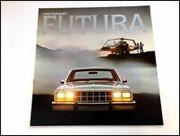 1978 Ford Fairmont Futura Original Car Sales Brochure Catalog - Coupe