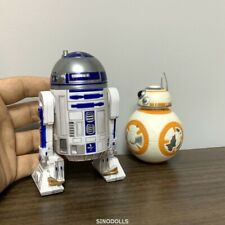 2Pcs Star Wars Galactic Heroes BB-8 & R2-D2 Movies Playskool Figure Collect Toys