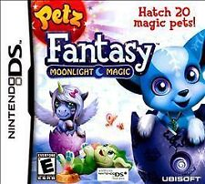 BRAND NEW Sealed Petz Fantasy: Moonlight Magic (Nintendo DS, 2010)