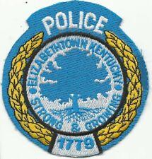 New listing Elizabethtown Kentucky Ky Police patch Elizabeth