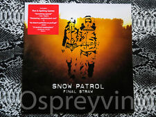Snow Patrol Final Straw Brand New vinyl Album (Unsealed)