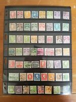 Denmark Stamp Collection - Mostly Used - Lots of Classics - 6 Scans - W5
