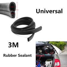 Universal 3M Car Door Black Rubber O U Style Channel Edge Trim Seal Trunk Strip