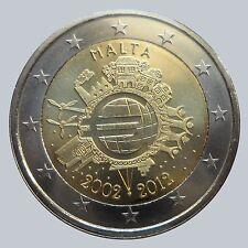 * 2 EURO COMMEMORATIVE - UNC - MALTE 2012