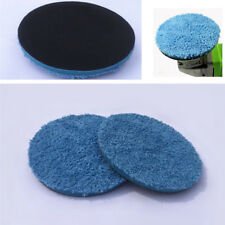 "Car Body Paint Pflegewerkzeug 4 ""blau Mikrofaser Buff Schwamm Polieren Pad Mat"