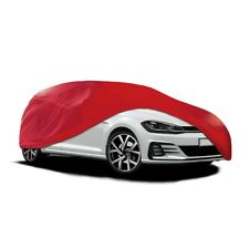 Indoor Car Garage Cover MEDIUM Red Supersoft Breathable Dustproof Fabric