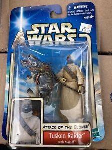 Hasbro Star Wars Attack of the Clones Tusken Raider Massiff Action Figure Sealed