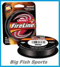 BERKLEY FIRELINE FUSED Braid Fishing Line 30LB-125YD #BFLFS30-42 FREE USA SHIP!