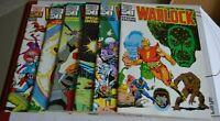 WARLOCK SPECIAL EDITION  # 1 - 6 : VFN/NM : DEC 1982 - MAY 1983 : MARVEL COMICS