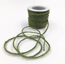 DIY 1 Roll 10M Wrap Gift Link Paper Tag Jute Burlap Ribbon Twine Rope Cord Strin