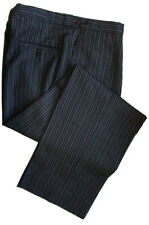 "100% Wool Morning Stripe Trousers Waist 42"" Leg 32"""