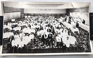 Antique 1957 Kappa Alpha PSI 47th Annual Banquet Photo Hotel Statler Los Angeles