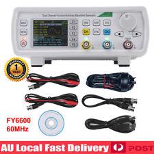 FY6600 60MHz Dual Channel DDS Function Signal Waveform Generator 20Vpp AU Plug