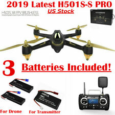Hubsan H501S S X4 Drone 5.8G FPV Brushless 1080P Quadcopter GPS RTH, Pro Verison