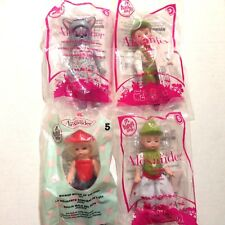 4 Madame Alexander Mcdonald's Happy Meal Toy Doll Hansel Gretel Witch Wendy