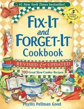 Fix-It and Forget-It Revised and Updated: 700 Great Slow Cooker Recipes by Phyll
