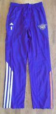 """Adidas Clima 365 NBA Authentics Suns Team Issued Tear Away Pants-2XL+6""""-NWT"""
