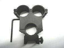 Rifle Scope Sight Mount Torch Light Lamp Laser Air Gun Bracket Clamp Universal